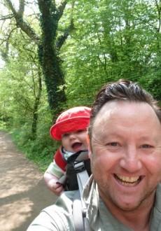 Tedi and Dad April 2011