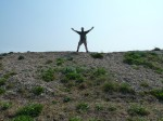 Walking The Shingle Beach At Dunwich To Walberswick April 2011