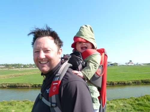 Aldeburgh Marshes in the wind May 2011