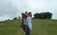 Climbing Deacon Hill Hertfordshire Icknield Way Chalk Downs