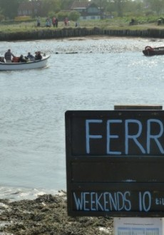 Southwold Harbour Ferry April 2011