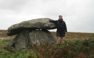 Chun Quoit Cornwall South West Coastal Path Walking Route