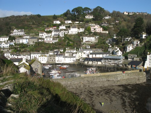 Polperro Harbour Cornwall Walks Polperro Walking Route
