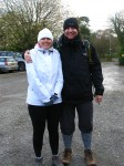 Setting off in the freezing cold on our Mount Edgcumbe Country Park walking route