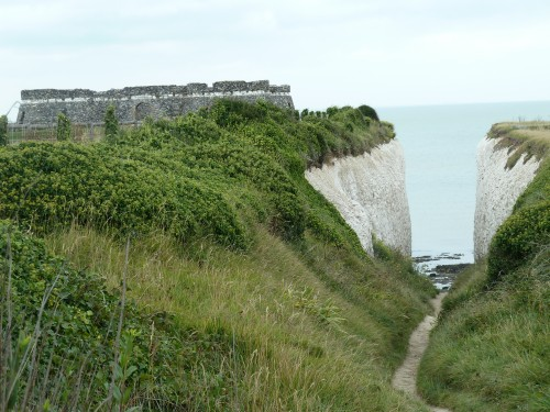 Margate Walking Route Tower Fort at White Ness