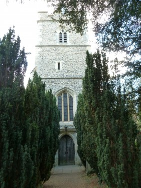 Hertfordshire Walks Hertford Heath Walking Route Church at Great Amwell