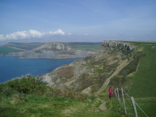 Walks And Walking - Dorset Walks - Chapmans Pool and Emmets Hill
