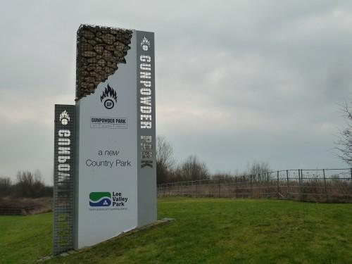 Walks And Walking - Essex Walks - Gunpowder Park Walking Route