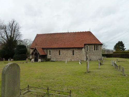 Walks And Walking - Essex Walks Moreton Walking Route - Little Laver Church