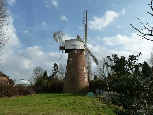 Walks And Walking - Essex Walks - Billericay to Chelmsford Walking Route - Stock Windmill