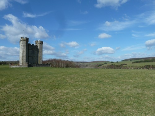Walks And Walking - West Sussex Walks Arundel to Bognor Regis Walking Route - Hiorne Tower Arundel Park