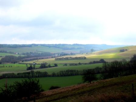 Walks And Walking – Kent Walks Elham Valley Way Walking Route - EVW Heading to Elham