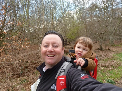 Walks And Walking - Essex Walks Epping Forest Jacks Hill Walking Route - Dad, You're Going The Wrong Way Again!