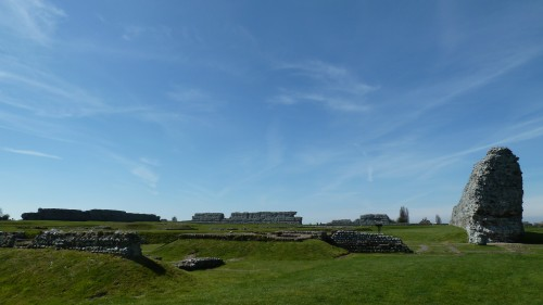 Walks And Walking - Kent Walks Sturry To Sandwich Walking Route - Richborough Castle Roman Fort