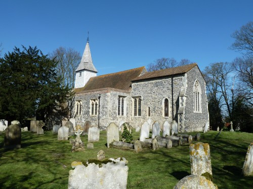 Walks And Walking - Kent Walks Sturry To Sandwich Walking Route - Stourmouth Historic Church