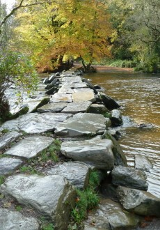 Walks And Walking - Somerset Walks - Dulverton Tarr Steps Video