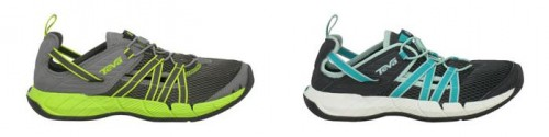 Walks And Walking - Teva Churn Evo Lightweight Water Friendly Walking Shoe Range