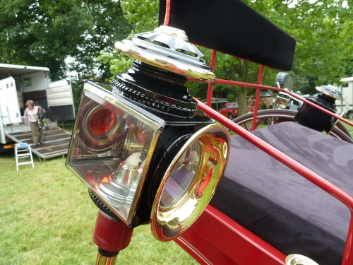 Hertfordshire Heavy Horse Show June 2011 at Capel Manor College Shire Horse Carriage Light