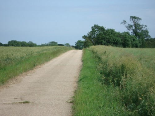 Walks And Walking - Hertfordshire Walks Buntingford Walking Route - Beauchamps