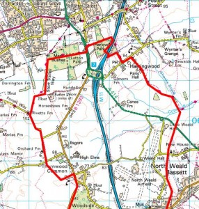 Walks And Walking - Essex Walks Epping Forest District Walking Route Map 2