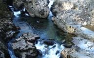 Walks And Walking - Wales Walks Coed y Brenin Forest Park - Looking down the ravine