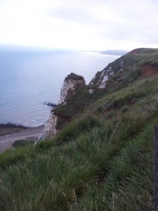 Walks And Walking – Kent Walks Dover To Folkestone Walking Route - Cliffs Near Folkestone