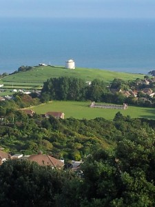 Walks And Walking - Kent Walks Dover to Folkestone Walking Route - Martello Towers Folkestone