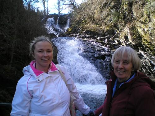 Walks And Walking - Wales Walks Snowdonia Betws-y-Coed Walking Route - Swallow Falls