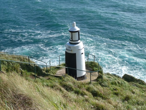 Walks And Walking - Cornwall Walks Looe to Polperro Walking Route - Lighthouse at The Warren National Trust area