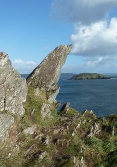 Walks And Walking - Cornwall Walks Looe to Polperro Walking Route - St Geroge's Island