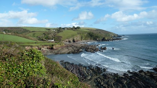 Walks And Walking - Cornwall Walks Looe to Polperro Walking Route - Talland Bay