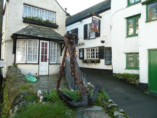 Walks And Walking - Cornwall Walks Looe to Polperro Walking Route - Three Pilchards