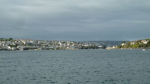 Walks And Walking - Cornwall Walks Pendennis Castle Falmouth Walking Route - Falmouth from the ferry