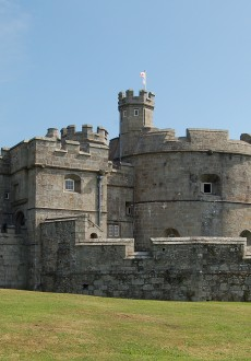 Walks And Walking - Cornwall Walks Pendennis Castle Falmouth Walking Route - Pendennis Castle