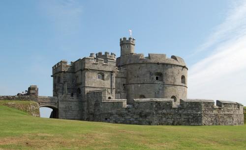 Walks And Walking - Cornwall Walks Pendennis Castle Falmouth Walking Route - Pendennis Castle