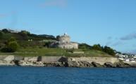 Walks And Walking - Cornwall Walks St Mawes Castle Walking Route - St Mawes Castle from the ferry
