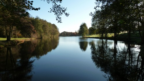 Walks And Walking - Suffolk Walks Stoke by Nayland Church Walking Route - One of the four lakes