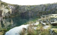 Walks And Walking - Cornwall Walks Bodmin Moor Caradon Hill Walking Route - Disused Quarry