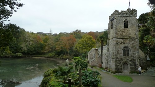 Walks And Walking - St Just Church Roseland Cornwall