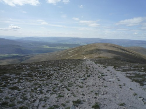 Scotland Walks - A Midsummer Walk Up Carn Ban Mor In The Cairngorms - JWoolf Carn Ban Mor 3