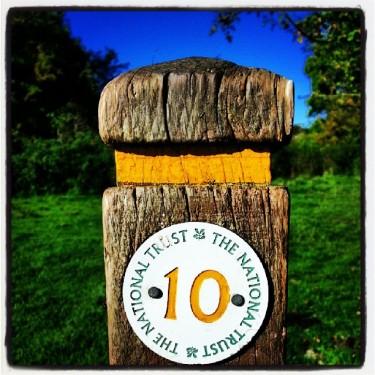 Walks And Walking - Hertfordshire Walks Hatfield Forest Walks - Way Marker 10