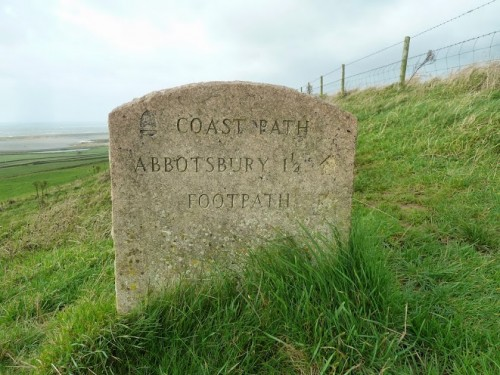 Walks And Walking - Weymouth Walks Abbotsbury Walking Route - Coast Path Abbotsbury Footpath