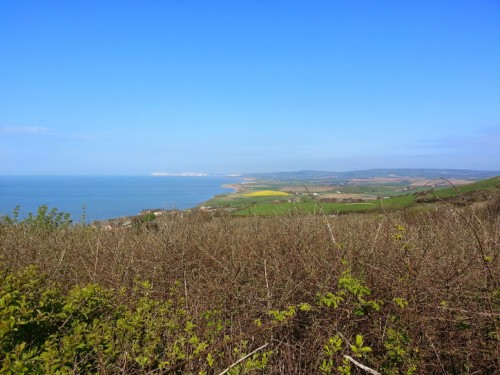 Walks And Walking - St. Catherine's Oratory Isle of Wight - View