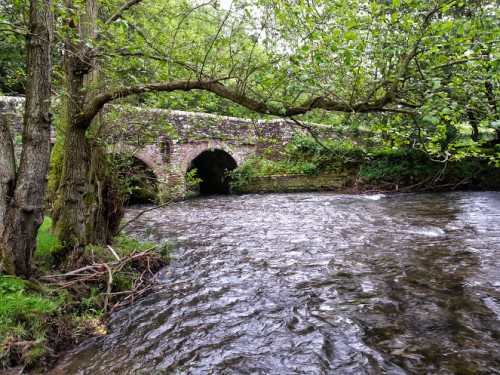 Walks And Walking - Newburn Farm Kington Walking Route - Bridge Over The River Arrow
