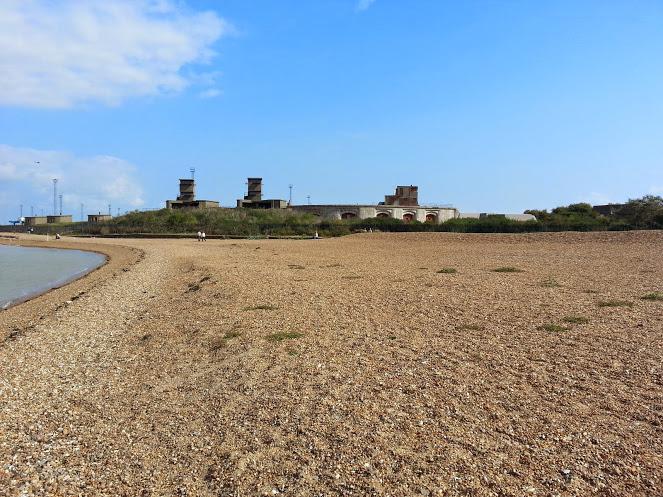Walks And Walking - Languard Fort Felixstowe Walking Route