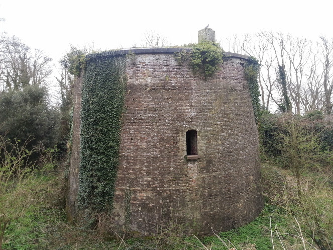 Walks And Walking - Sandgate Circular Walk in Kent - Martello Tower No. 6