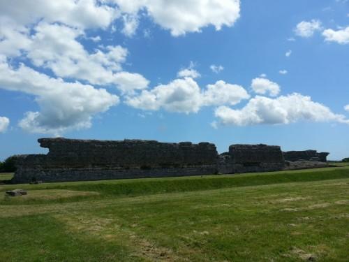 Walks And Walking - Sandwich Walk in Kent - Richborough Roman Fort