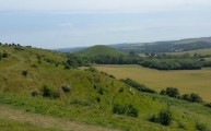 Walks And Walking - Newington Walk In Kent - Tolsford Hill