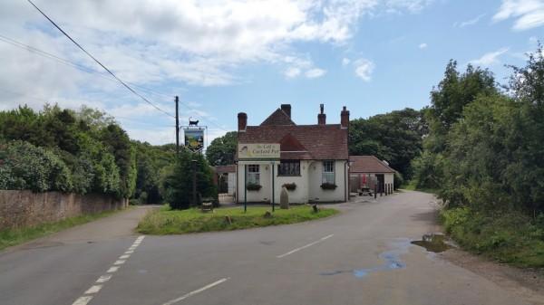 Walks And Walking - Paddlesworth Walk In Kent - The Cat and Custard Pot Paddlesworth