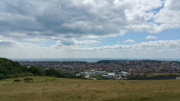 Walks And Walking - Paddlesworth Walk In Kent - Views Out To Folkestone